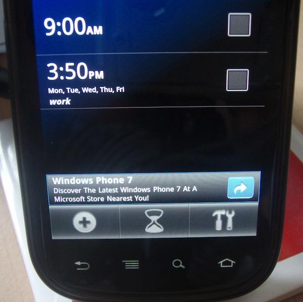 Microsoft Mobile Ad