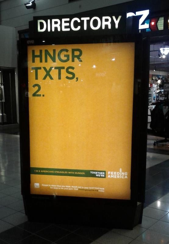 image: Feeding America Full Mall Ad