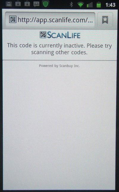 image: FedEx QR Scan Fail