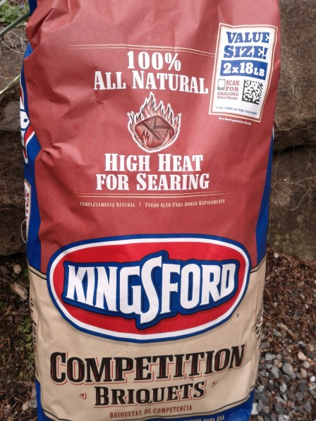 image: Kingsford Briquettes with 2D code