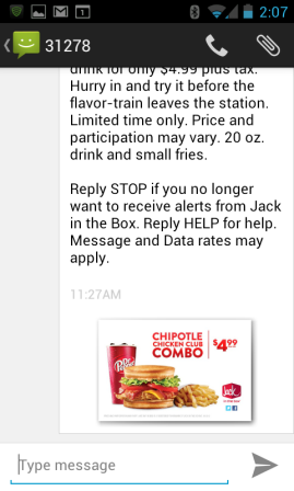 image: Jack In The Box MMS Msg part2