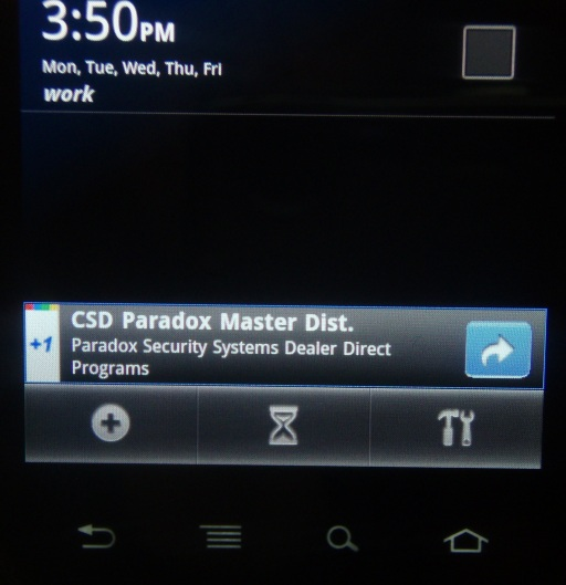 image: Paradox Security Mobile Ad