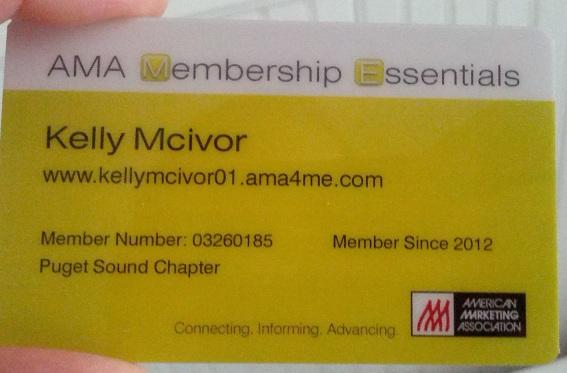 Image: AMA Member Card