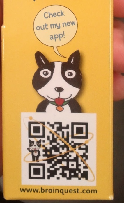 image: Brain Quest QR code