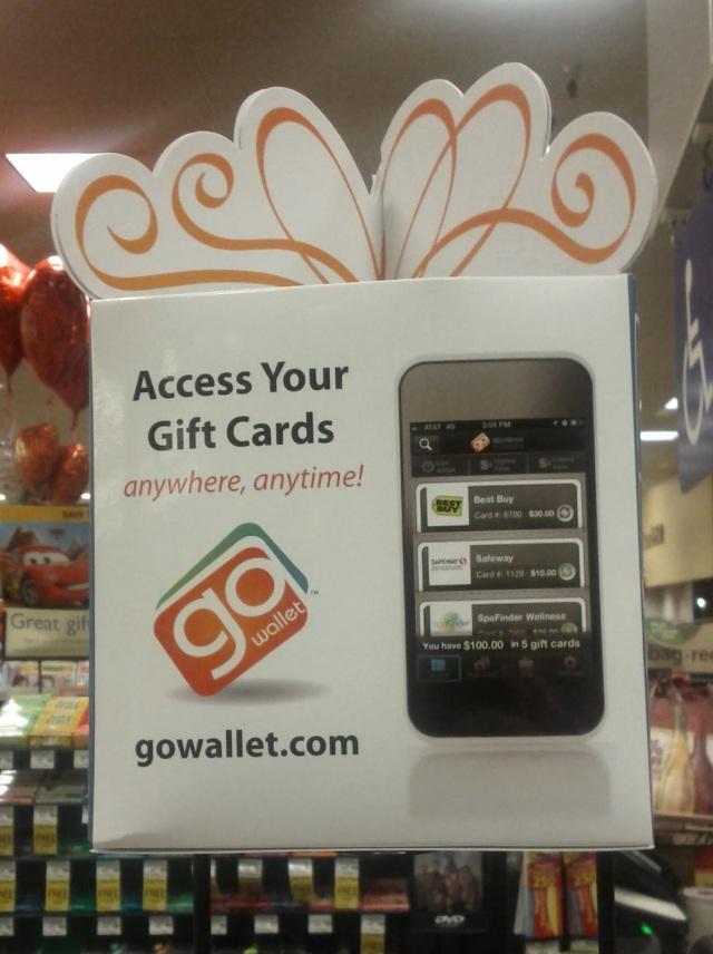 image: MobileMarketingFail.com GoWallet Display