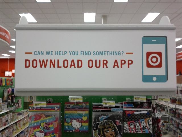 image: target in store mobile fail